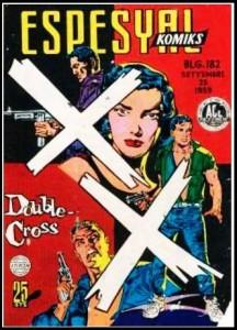 Double Cross- espesyal182 ORIGINAL COVER
