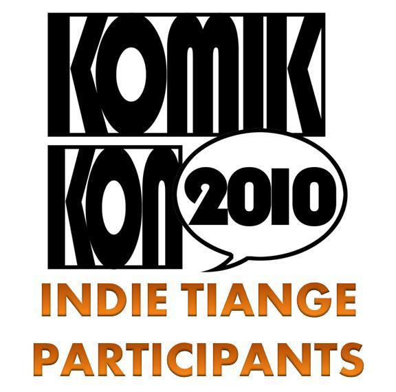 Komikon 2010 Indie Comics Tiange Participants