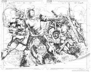 Dark Wolverine Artwork by Stephen Segovia