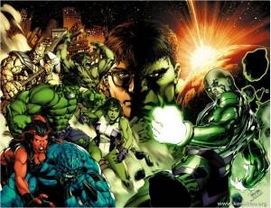 Hulk Artwork by Carlo Pagulayan
