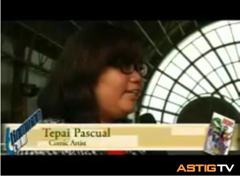 Komikon Sulyap 2010 Videos (Tepai Pascual)