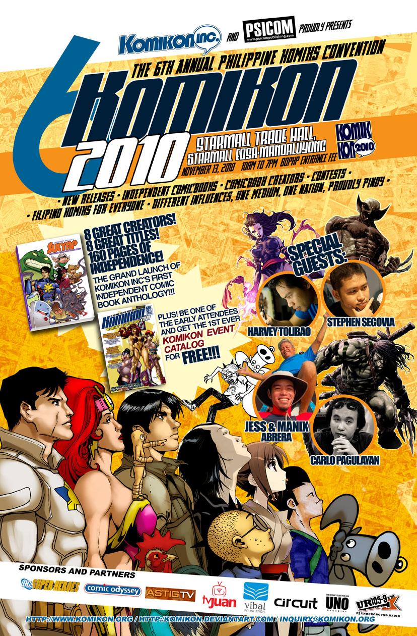 Komikon 2010 Poster