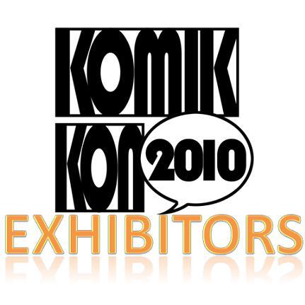 Komikon 2010 Exhibitors