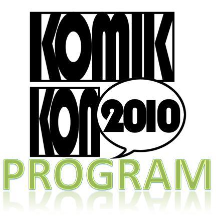 Komikon2010 Program