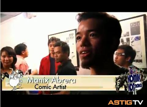 Komikon 2010 Guest Video (Manix Abrera)