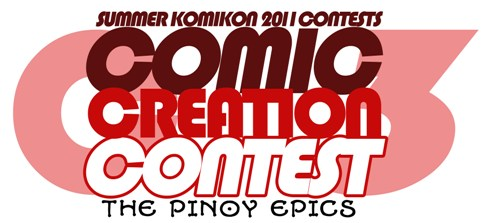 Comic Creation Contest Summer 2011 Logo