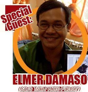 Elmer Damaso, Summer Komikon 2012 guest