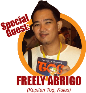 Summer Komikon 2012 Guest: Freely Abrigo