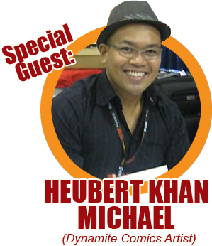 Summer Komikon 2012 Guest: Heubert Khan Michael
