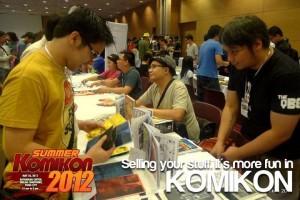 Selling! It's more fun in Komikon