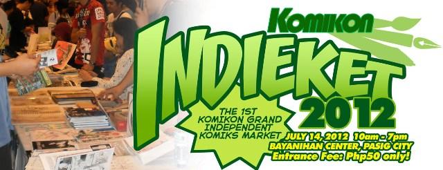 Komikon Brings You Indieket 2012!