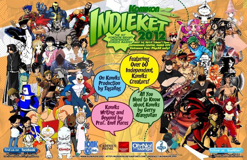 Official Poster Komikon Indieket 2012