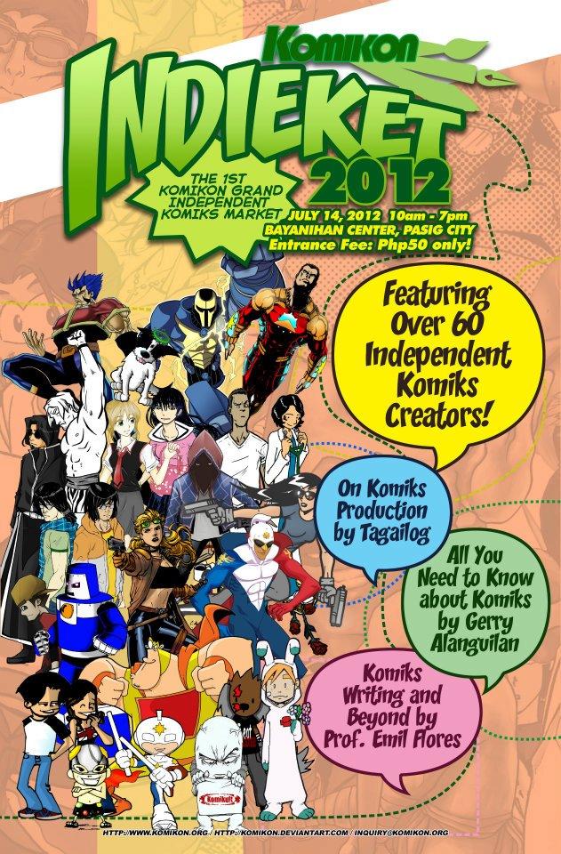 Indieket 2012 poster