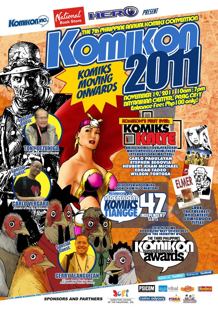 Komikon 2011 Poster