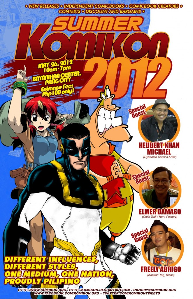 Summer Komikon 2012 Poster