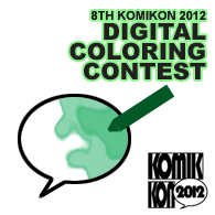 Digital Coloring Contest 2012 logo