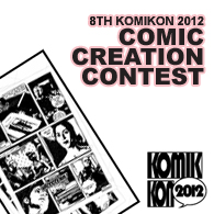Comic Creation Contest 2012 logo