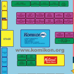 Komikon 2012 Floorplan Part 1 of 3