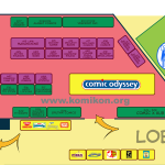 Komikon 2012 Floorplan Part 2 of 3