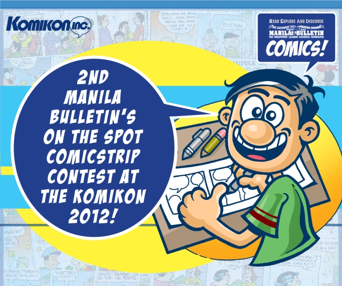 Manila Bulletin On The Spot Comic Strip Contest
