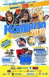 Official Summer Komikon 2013 Poster