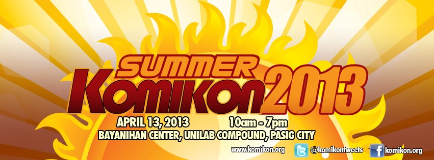 Summer Komikon 2013 Official Banner