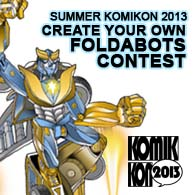 Create Your Own Foldabots Contest