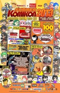 Summer Komikon 2013 Poster