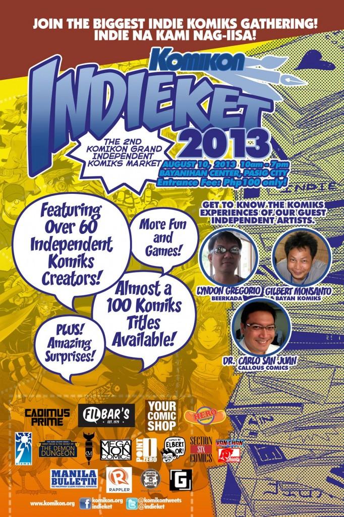 Indieket 2013 Poster