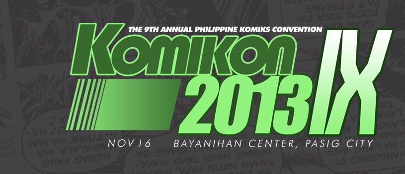 Komikon 2013 banner