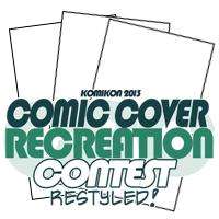 Comic Cover Recreation Komikon 2013