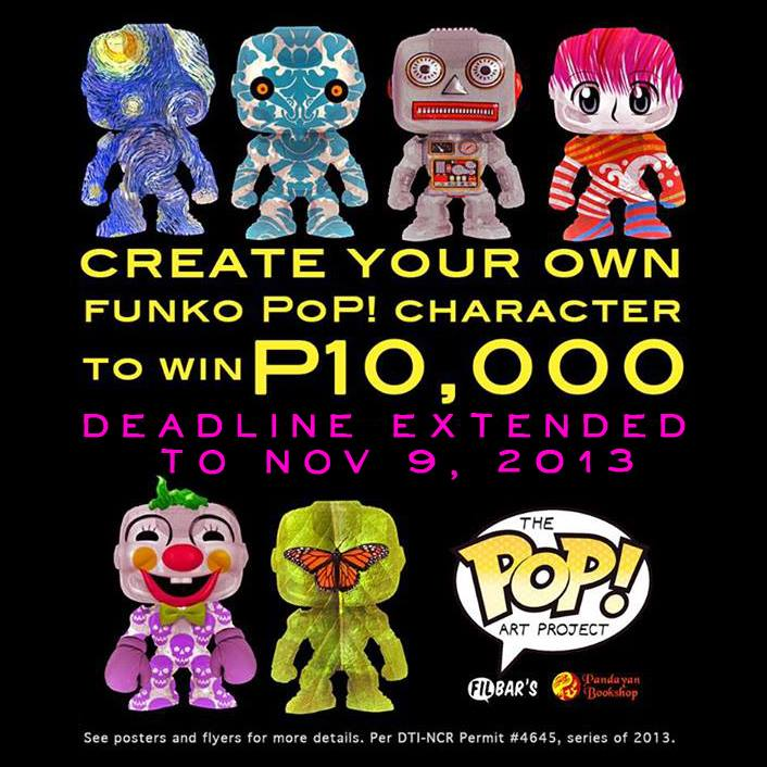 Pop Art Contest by Filbar's at Komikon 2013