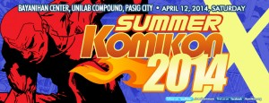 Summer Komikon 2014 FB Cover Page 1