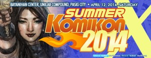 Summer Komikon 2014 FB Cover Page 2