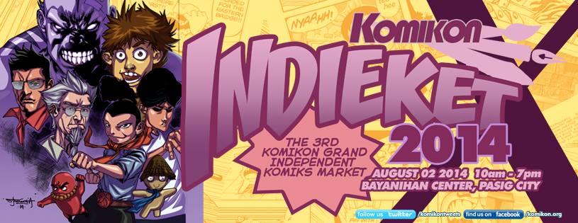 Komikon Indieket 2014