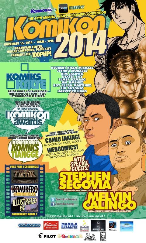 Komikon 2014 Poster