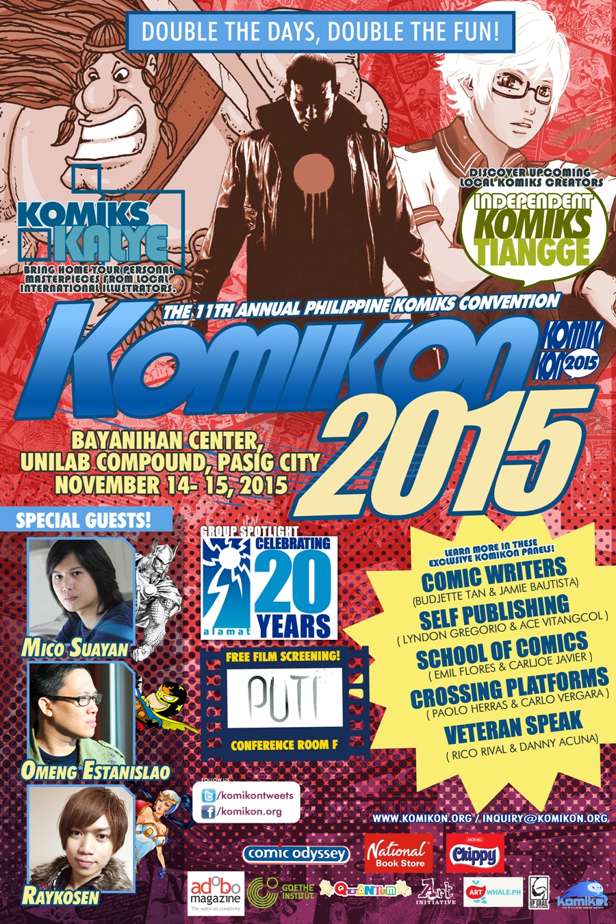 Komikon 2015 Poster