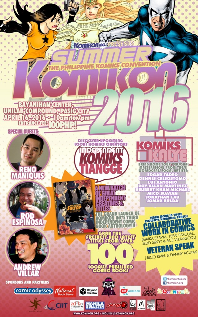 Official Summer Komikon 2016 Poster
